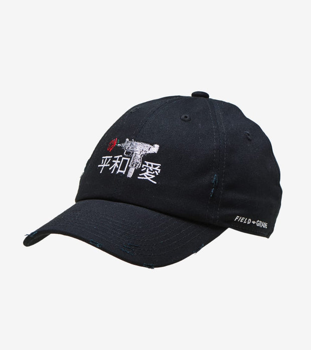 Field Grade  Automatic Roses Love Dad Hat  Black - 1001943 | Jimmy Jazz