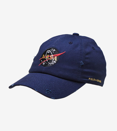 Field Grade  Skylab NASA 50th Anniversary Dad Hat  Navy - 1001948 | Jimmy Jazz