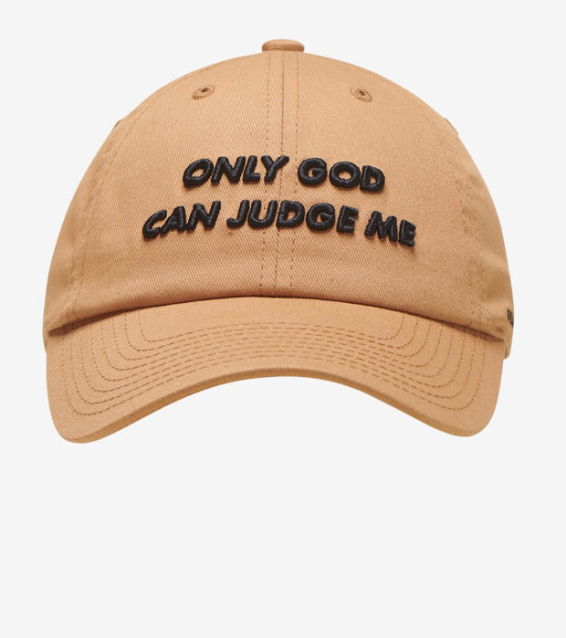 Field Grade  Only God Can Judge Me Dad Hat  Beige - 1002164 | Jimmy Jazz