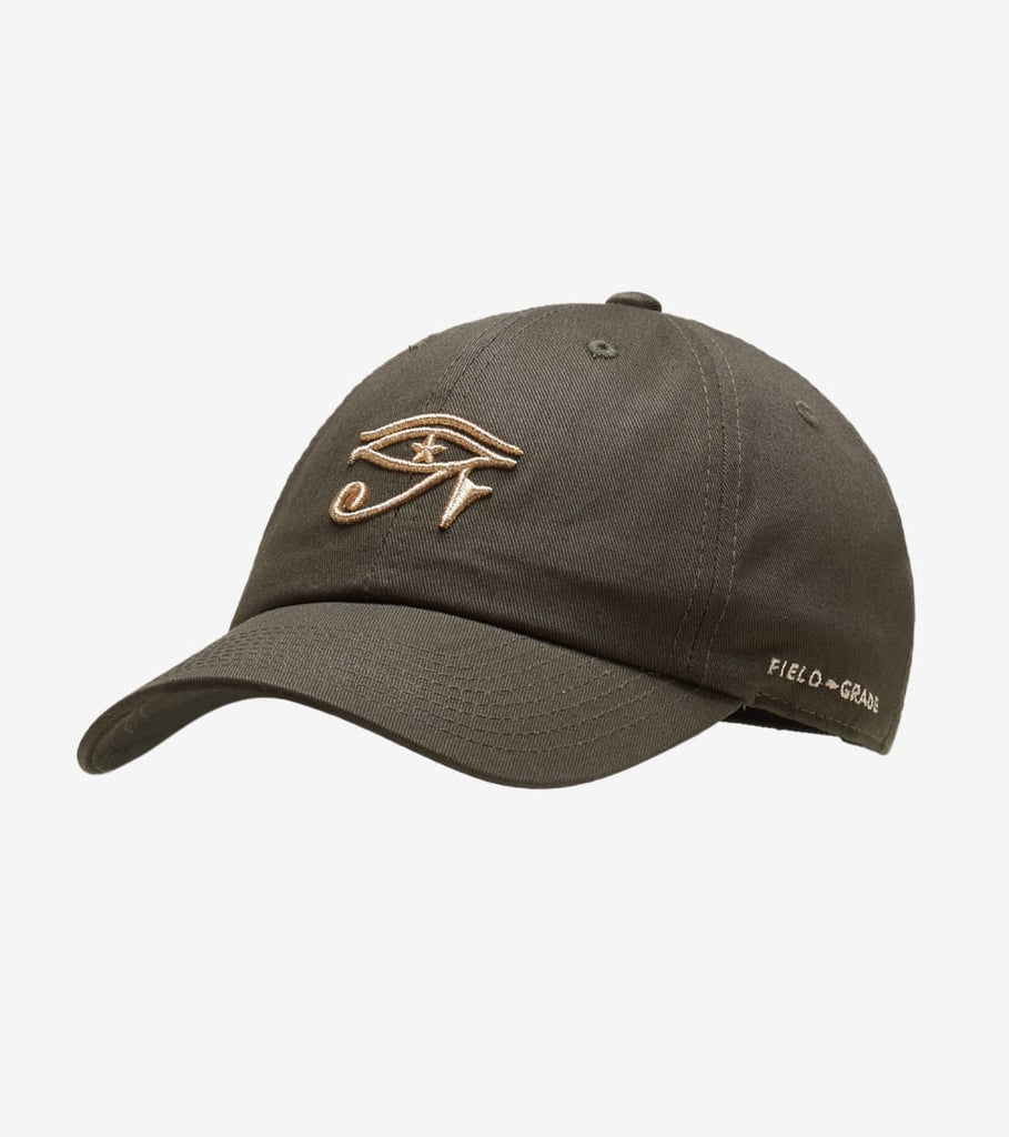 Field Grade  Eye of Horus Strapback  Green - 1002273 | Jimmy Jazz