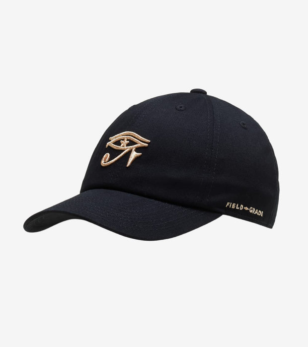 Field Grade  Eye of Horus Strapback  Black - 1002274 | Jimmy Jazz
