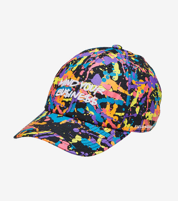 Field Grade  Mind Your Business Dad Hat  Multi - 1002314 | Jimmy Jazz