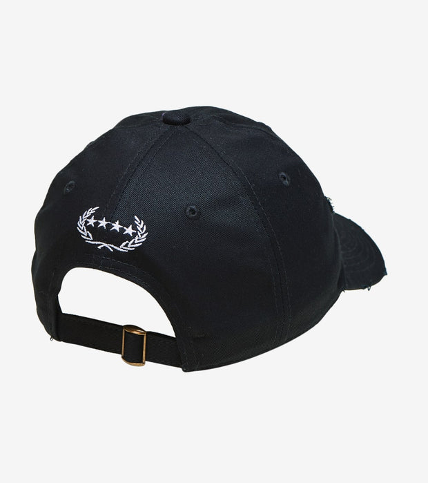 Field Grade  Not Sorry Dad Hat  Black - 1002347 | Jimmy Jazz