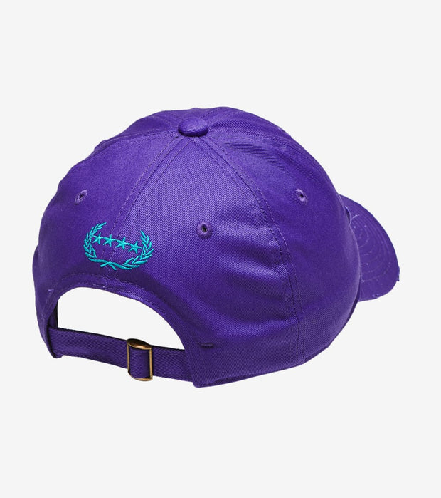 Field Grade  Not Sorry Dad Hat  Purple - 1002348 | Jimmy Jazz