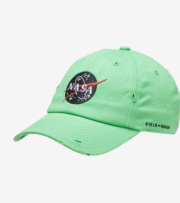 Field Grade  NASA 30th Anniversary Hat  Green - 1002351 | Jimmy Jazz