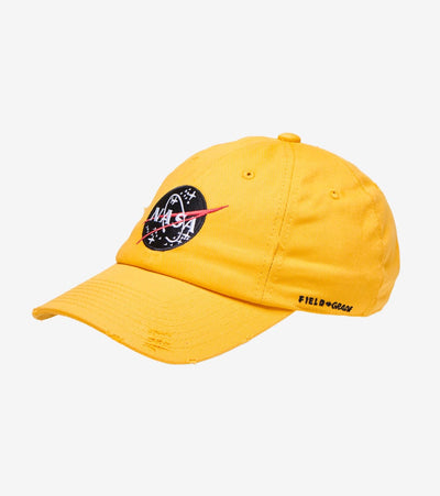 Field Grade  NASA Apollo 30th Anniversary Dad Hat  Yellow - 1002381 | Jimmy Jazz