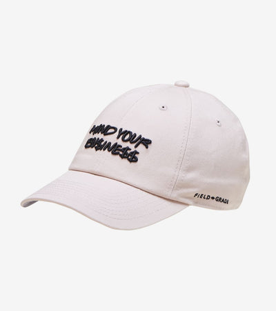 Field Grade  Mind Your Business Dad Hat  Beige - 1002408 | Jimmy Jazz