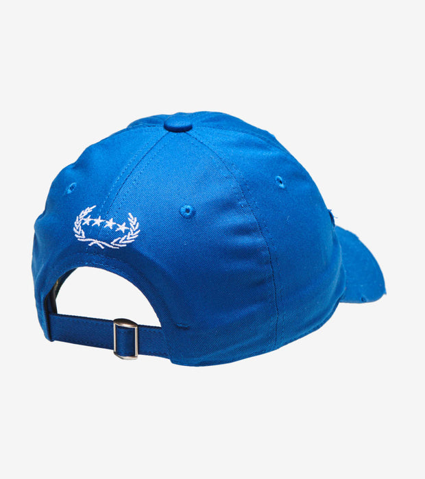 Field Grade  You're Too Close Stone Dad Hat  Blue - 1002410 | Jimmy Jazz