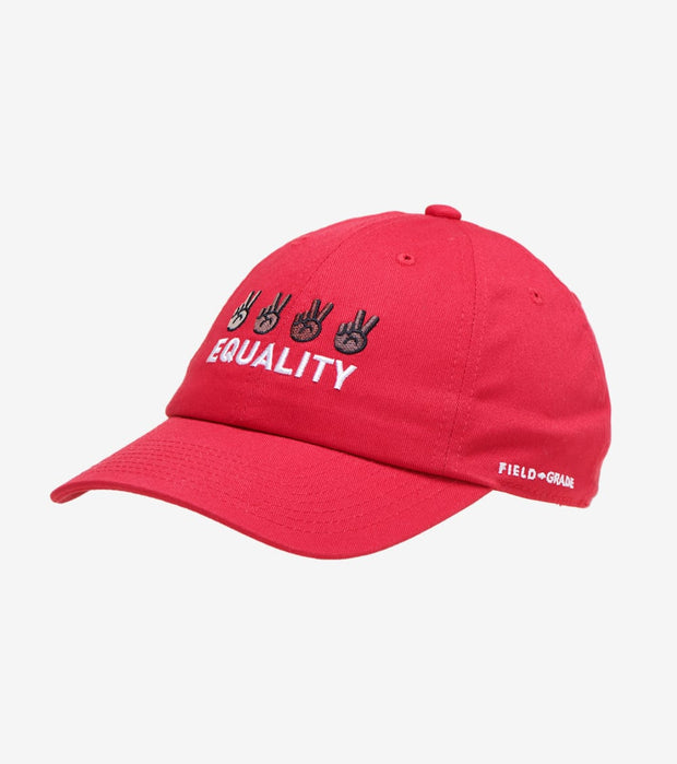 Field Grade  Social Justice Equality Dad Hat  Red - 1002423 | Jimmy Jazz
