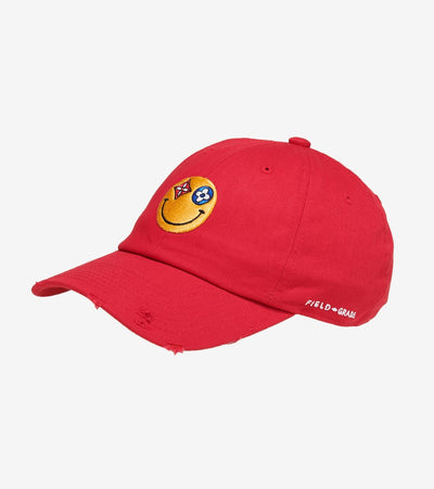 Field Grade  All Eyes Dad Hat  Red - 1002529 | Jimmy Jazz