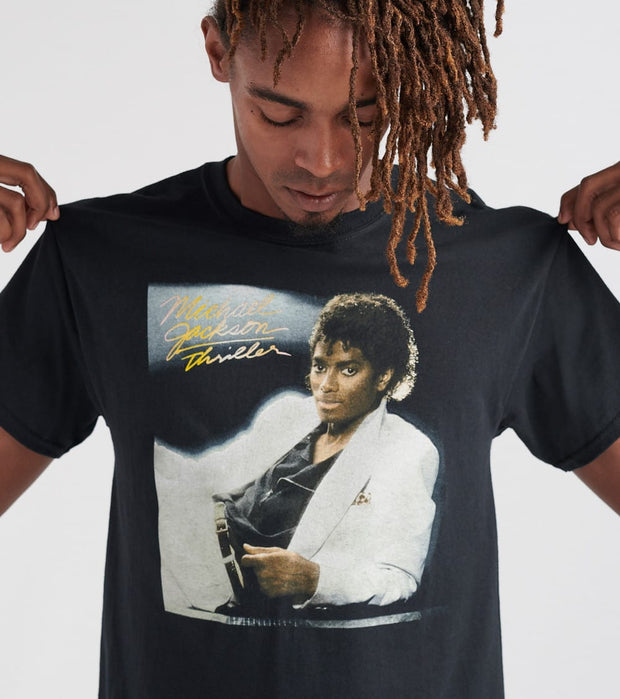 Merch Traffic  Michael Jackson Thriller Tee  Black - 10290114-BLK | Jimmy Jazz