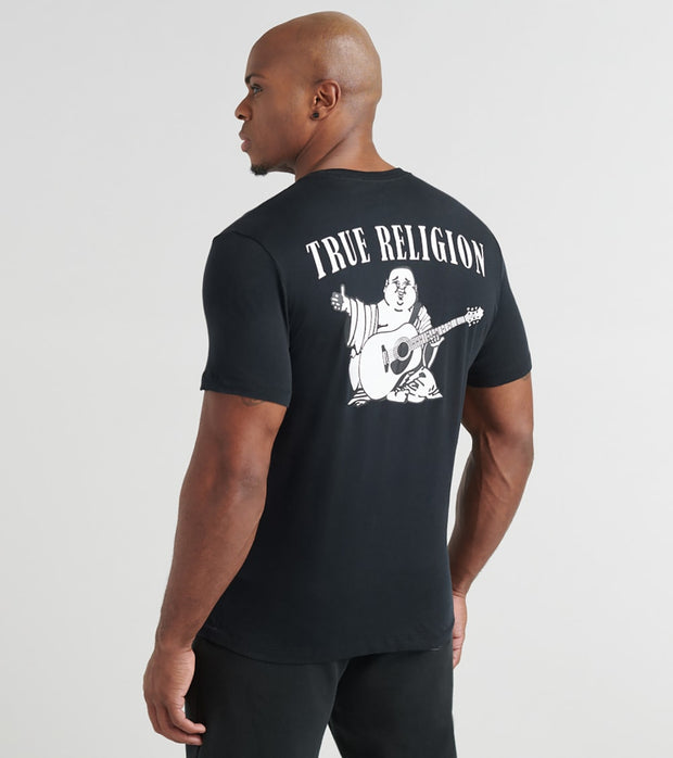 True Religion  Buddha Tee  Black - 1033071001-BLK | Jimmy Jazz