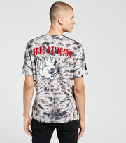 True Religion  Buddha Tie-Dye Crew Tee  Black - 104789-1096 | Jimmy Jazz