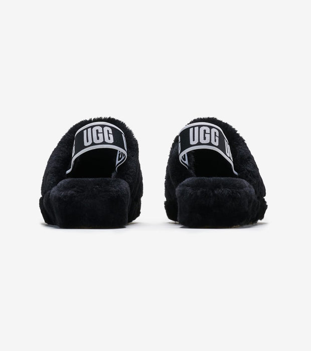 Ugg  Fluff Yeah Slide  Black - 1095119-BLK | Jimmy Jazz