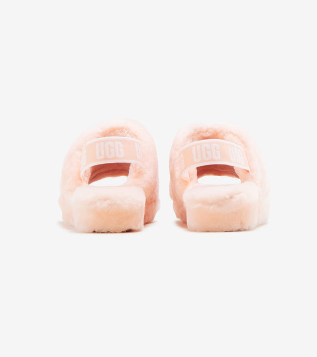 Ugg  Fluff Yeah Slides  Yellow - 1095119-SCLL | Jimmy Jazz