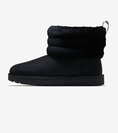 Ugg  Fluff Mini Quilted  Black - 1098533-BLK | Jimmy Jazz