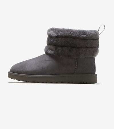 Ugg  Fluff Mini Quilted  Grey - 1098533-CHRC | Jimmy Jazz