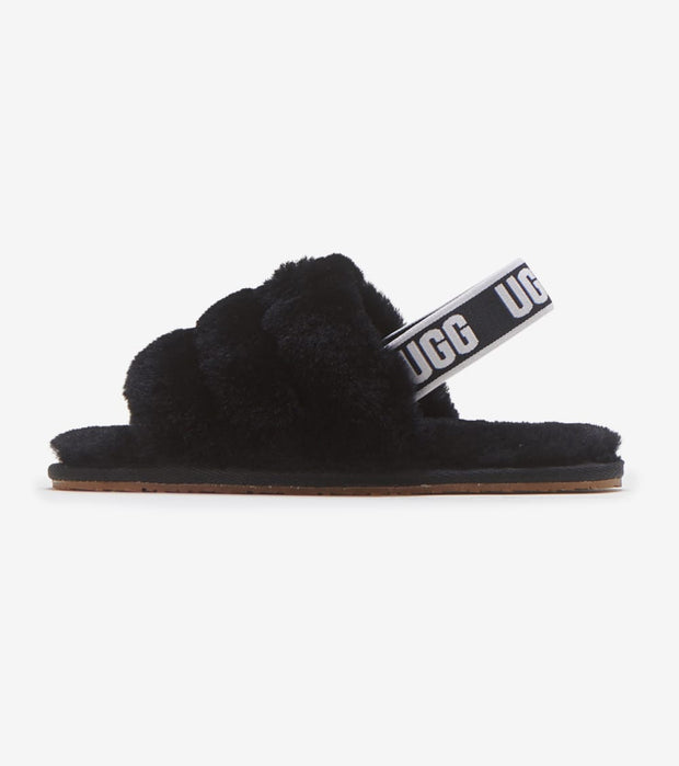 Ugg  Fluff Yeah Slide  Black - 1098579T-BLK | Jimmy Jazz