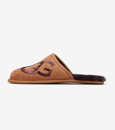 Ugg  Scuff Logo Slippers  Brown - 1101324-CESP | Jimmy Jazz