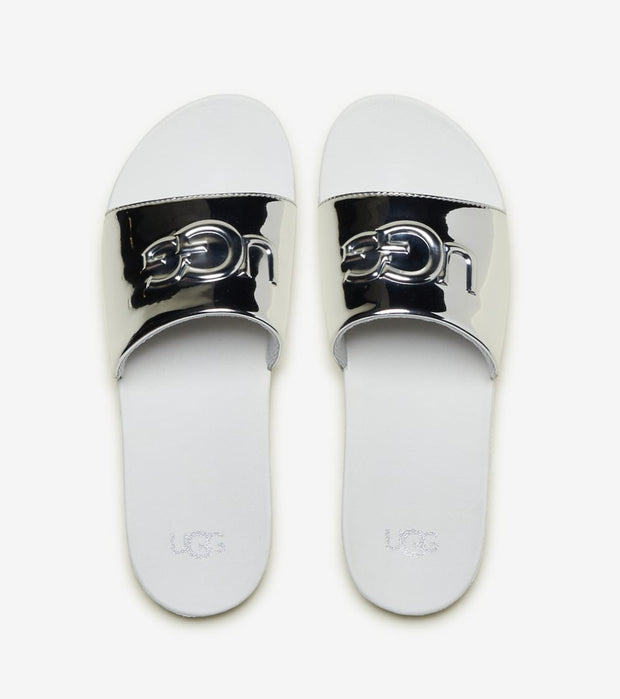 Ugg  Graphic Slides  Grey - 1101569K-SLVR | Jimmy Jazz