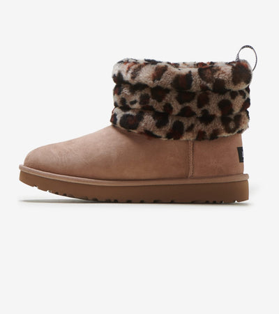 Ugg  Fluff Mini Quilted  Beige - 1105358-AMP | Jimmy Jazz
