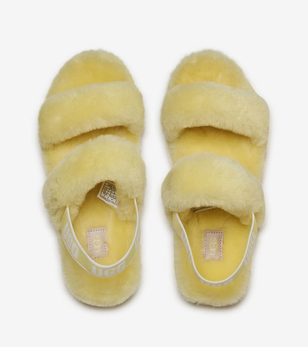 Ugg  Oh Yeah Slide  Yellow - 1107953-MRT | Jimmy Jazz