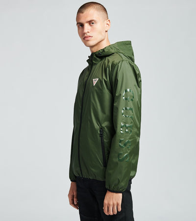 Guess  Lightweight Solid Jacket  Green - 110AN878-OLV | Jimmy Jazz