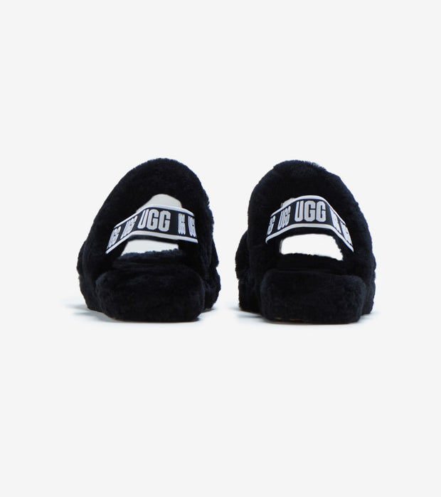 Ugg  Oh Yeah Slides  Black - 1115752K-BLK | Jimmy Jazz