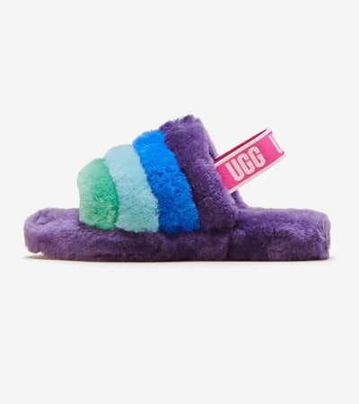 Ugg  Fluff Yeah Slide  Purple - 1116157K-PRNB | Jimmy Jazz
