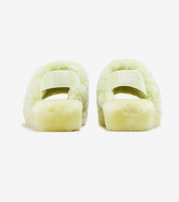 Ugg  Fluff Yeah Slides Poppy  Yellow - 1118459-PLLN | Jimmy Jazz