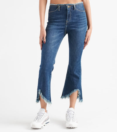 Funky Soul  Raw Waist Denim Jeans  Blue - 112006301-DKB | Jimmy Jazz