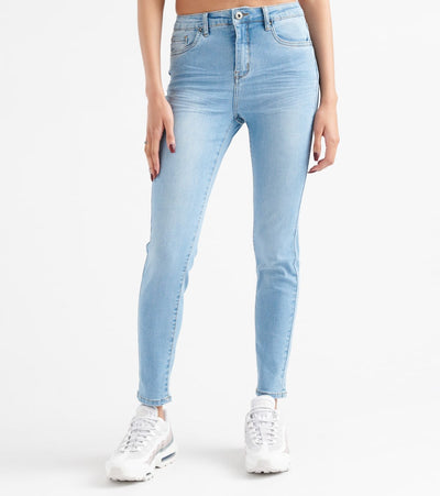 Funky Soul  27High Rise Denim Jeans  Blue - 112009503-LTB | Jimmy Jazz