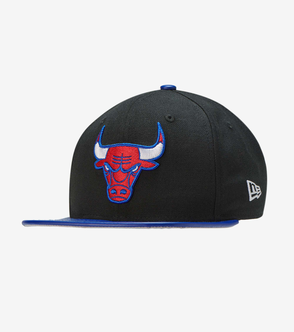 New Era  Bulls Top 3 Snapback  Black - 11936636 | Jimmy Jazz