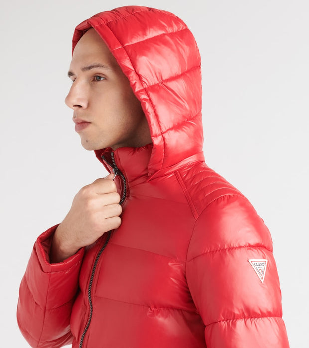 Guess  Premium Puffer Jacket  Red - 119RN716-RED | Jimmy Jazz