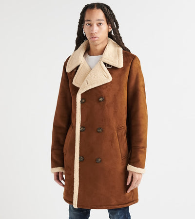 Guess  City Faux Shearling  Brown - 119RS218-COG | Jimmy Jazz