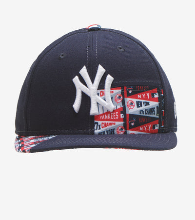 New Era  Yankees Banners Snapback  Navy - 12351271-ERA | Jimmy Jazz