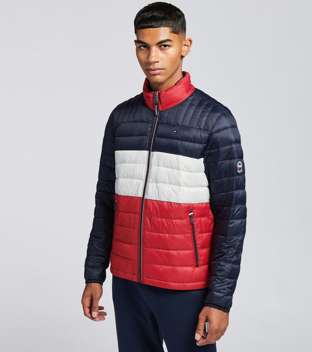 Tommy Hilfiger  Nylon Logo Packable Jacket  Multi - 150AN796-MUF | Jimmy Jazz