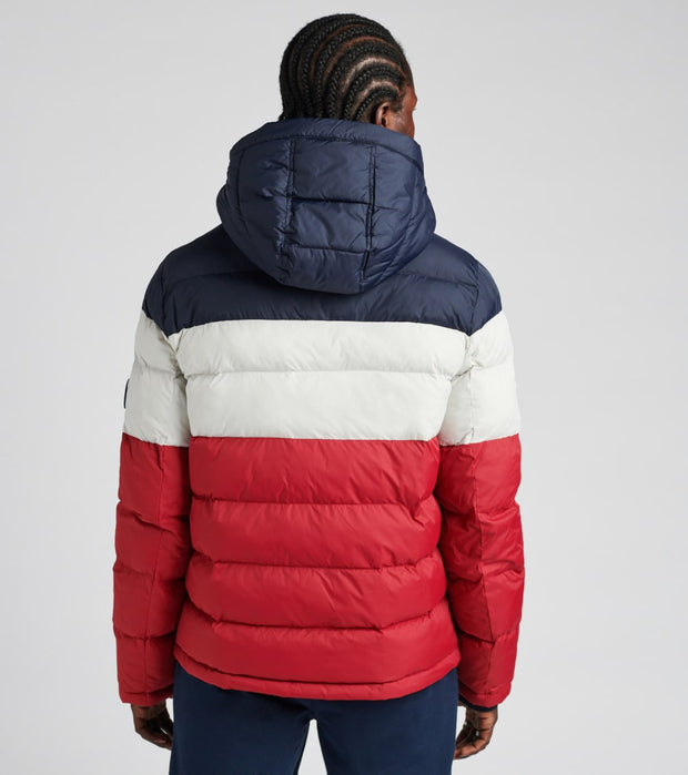 Tommy Hilfiger  Nylon Hooded Classic Puffer Jacket  Red - 158AN508-MUF | Jimmy Jazz