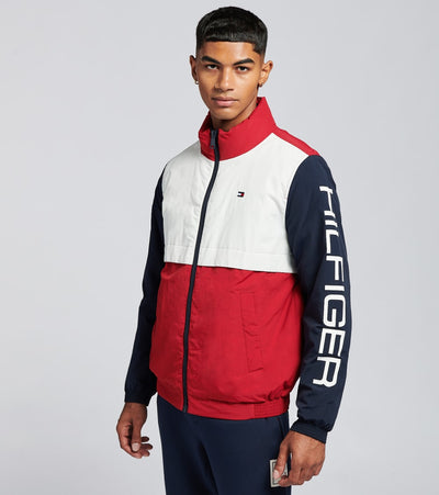 Tommy Hilfiger  Color Blocked Front Zip Jacket  Multi - 159AN960-MUF | Jimmy Jazz