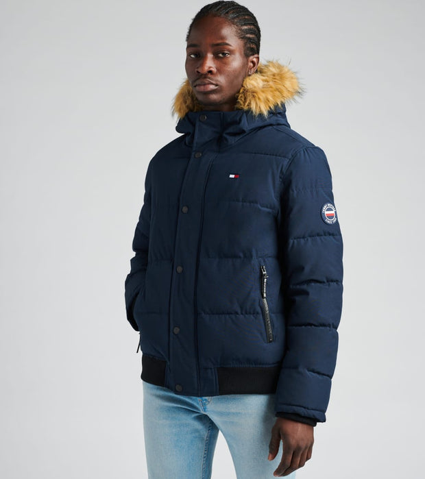 Tommy Hilfiger  Short Snorkel Jacket  Navy - 159AP863-NAV | Jimmy Jazz