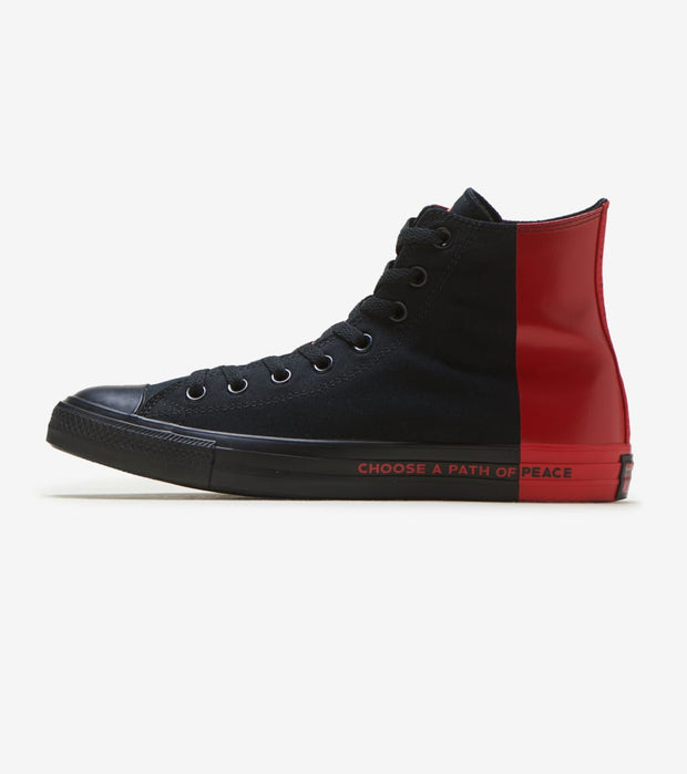 Converse  Chuck Taylor HI Seek Peace   Black - 166534F | Jimmy Jazz