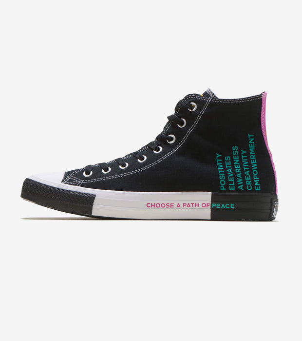 Converse  Chuck Taylor HI Seek Peace 2  Black - 166535F | Jimmy Jazz