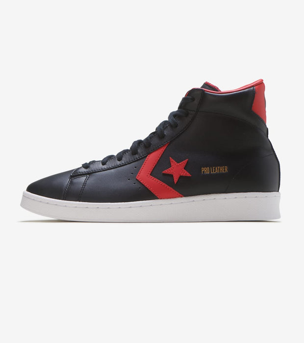 Converse  Pro Leather HI  Black - 166811C | Jimmy Jazz