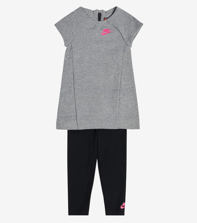 Nike  Infant Dress and Leggings Set  Grey - 16C084-GEH | Jimmy Jazz