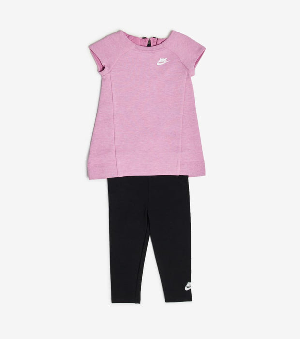 Nike  Infant Girls Dress and Leggings Set  Pink - 16C084-P2P | Jimmy Jazz