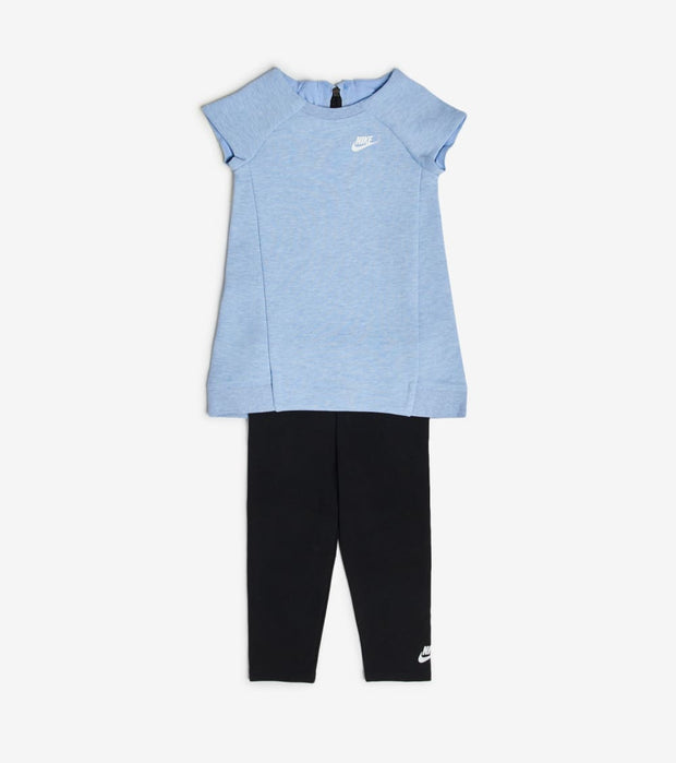 Nike  Infant Girls Dress and Leggings Set  Grey - 16C084-U2V | Jimmy Jazz