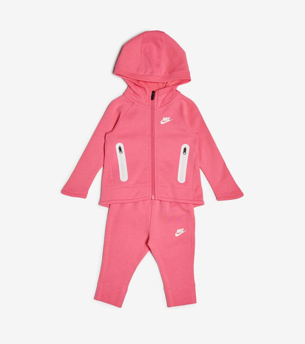 Nike  Toddler Girls NSW Tech Fleece Hoodie Set  Pink - 16D736-A5K | Jimmy Jazz