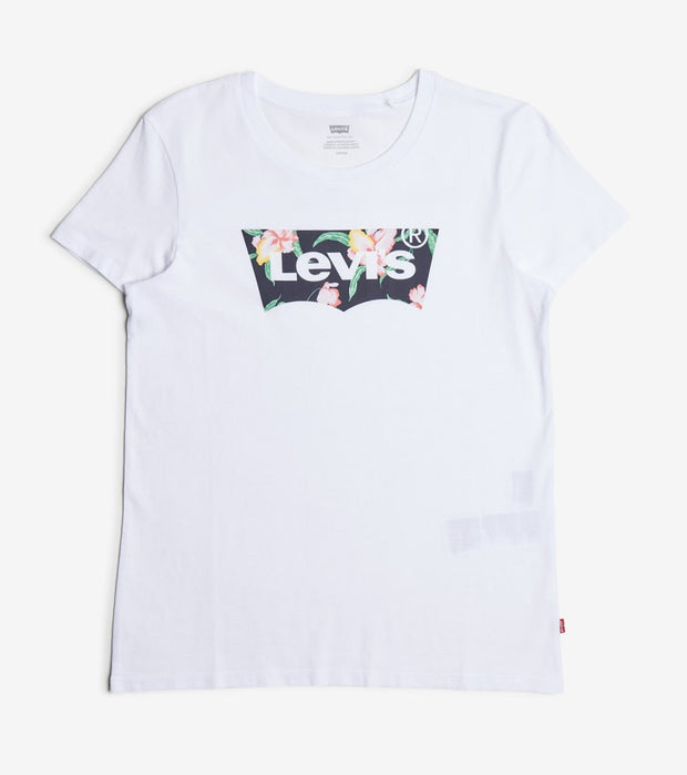 Levis  Filled Batwing Tee  White - 17369-0831 | Jimmy Jazz