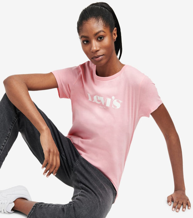Levis  The Perfect New Logo Tee  Pink - 17369-1289 | Aractidf