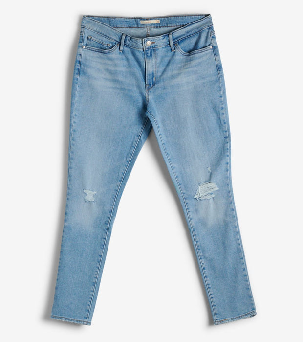 Levis  711 Skinny Azure Ray  Blue - 18881-0465 | Jimmy Jazz